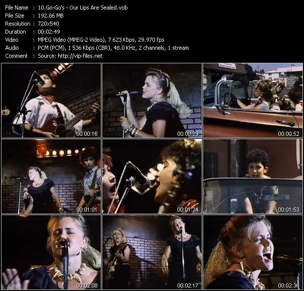 Go-Go's video screenshot