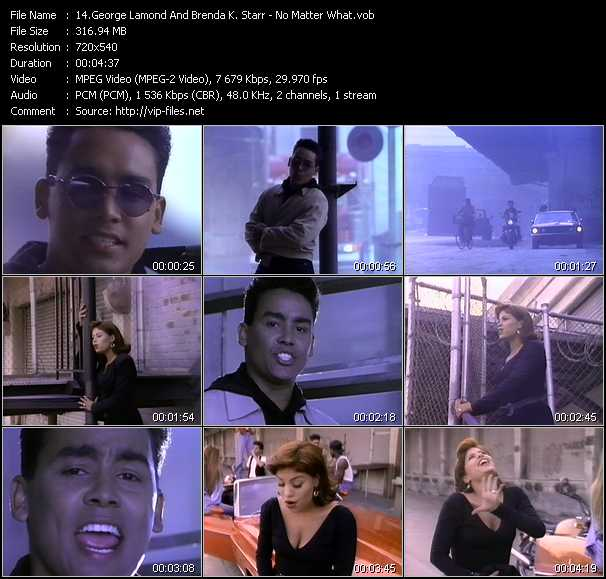 George Lamond And Brenda K. Starr video screenshot