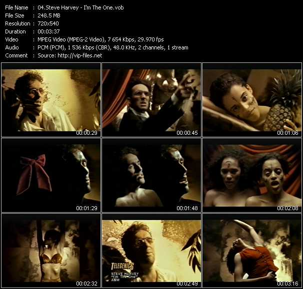 Steve Harvey video screenshot