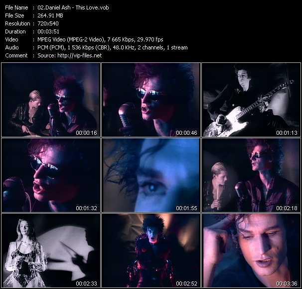 Daniel Ash video screenshot