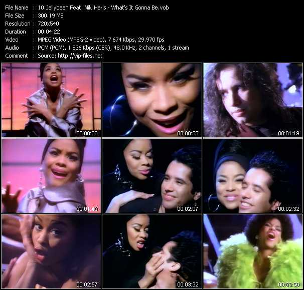 Jellybean Feat. Niki Haris video screenshot