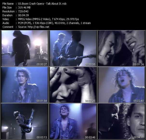 Boom Crash Opera video screenshot