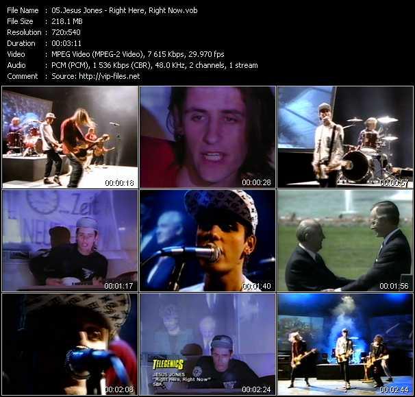 Jesus Jones video screenshot