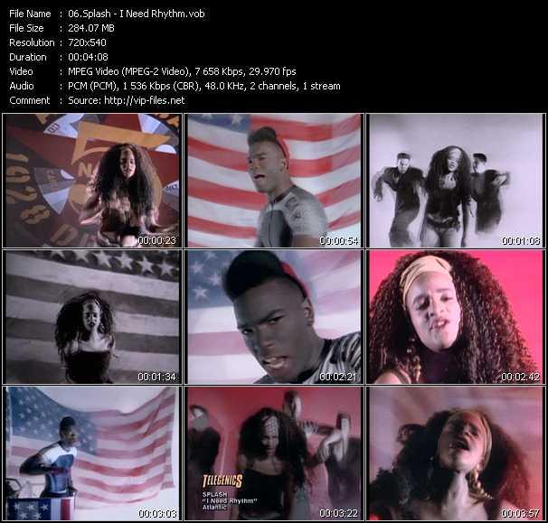 Splash video screenshot