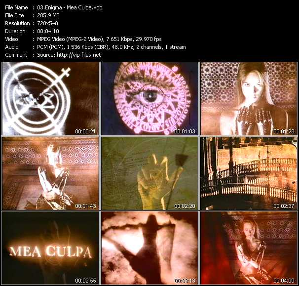 Enigma video screenshot