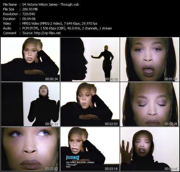 Victoria Wilson James video screenshot