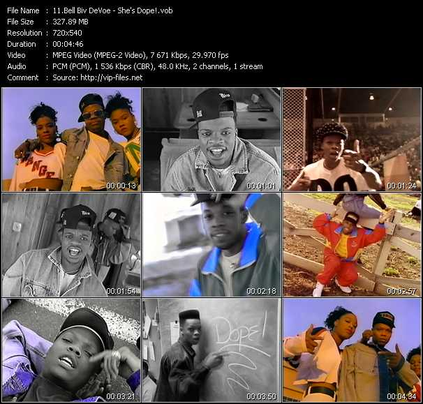 Bell Biv DeVoe video screenshot