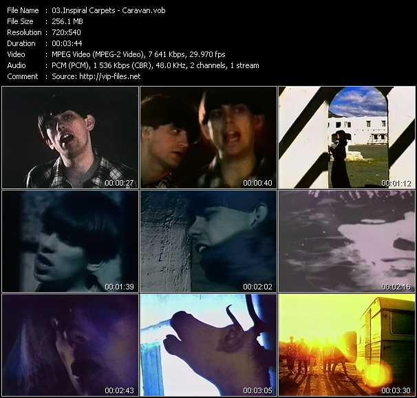 Inspiral Carpets video screenshot