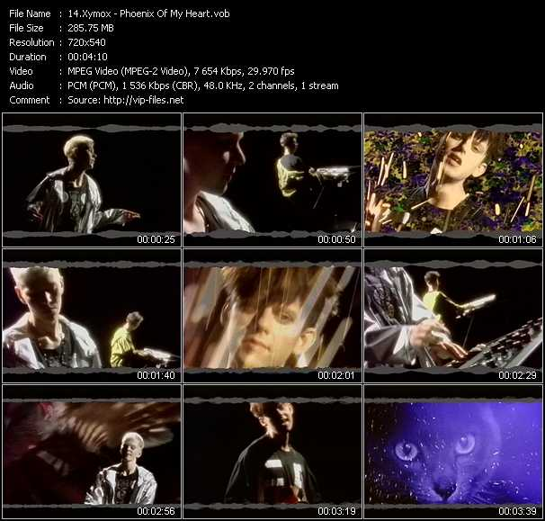 Xymox video screenshot