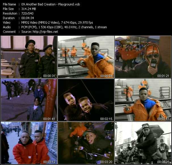 Another Bad Creation video screenshot