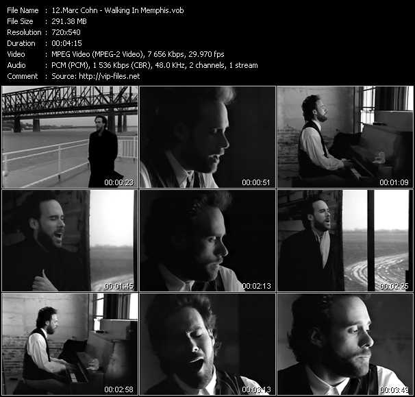 Marc Cohn video screenshot