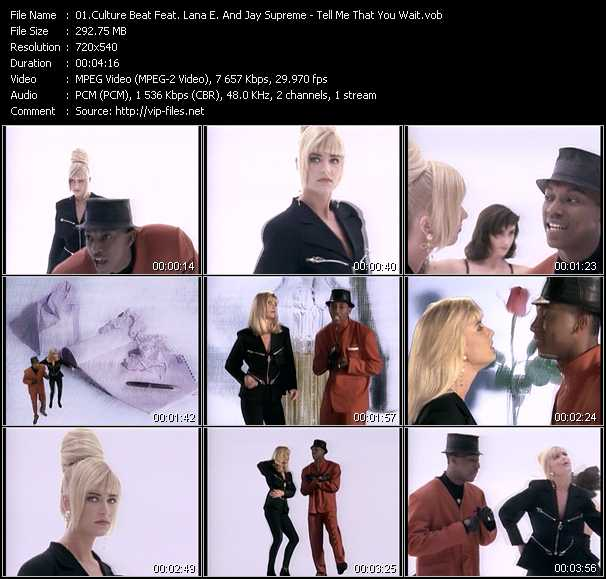 Culture Beat Feat. Lana E. And Jay Supreme video screenshot