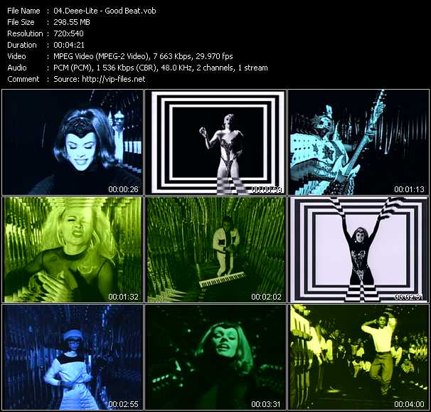 Deee-Lite video screenshot