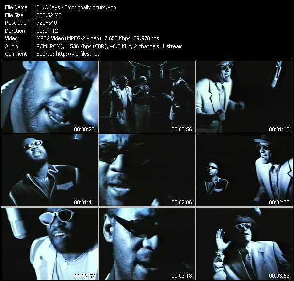 O'Jays video screenshot