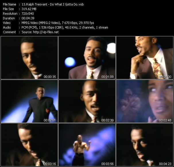 Ralph Tresvant video screenshot