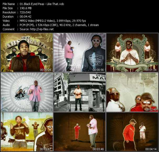 Black Eyed Peas Feat. Q-Tip, Talib Kweli, Cee Lo Green And John Legend video screenshot