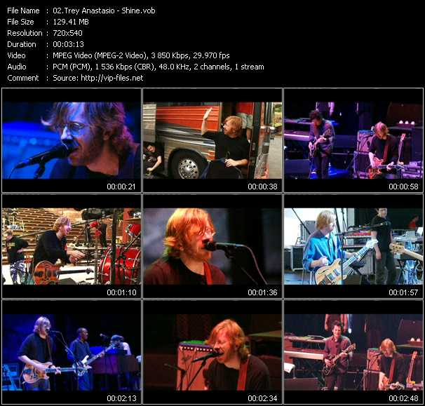Trey Anastasio video screenshot