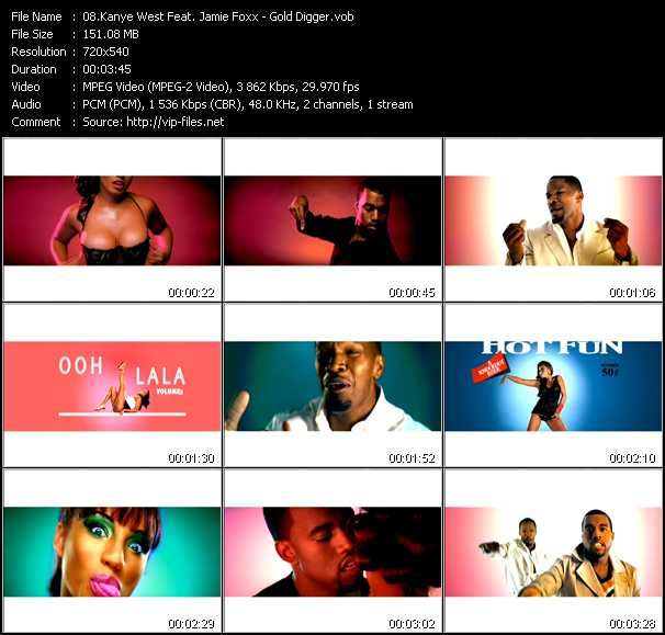 Kanye West Feat. Jamie Foxx video screenshot