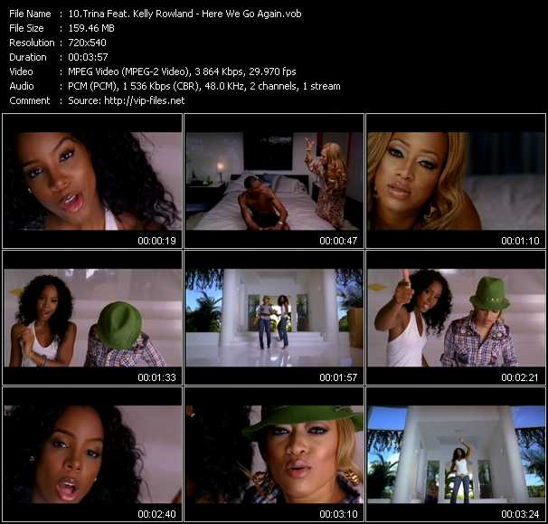 Trina Feat. Kelly Rowland video screenshot