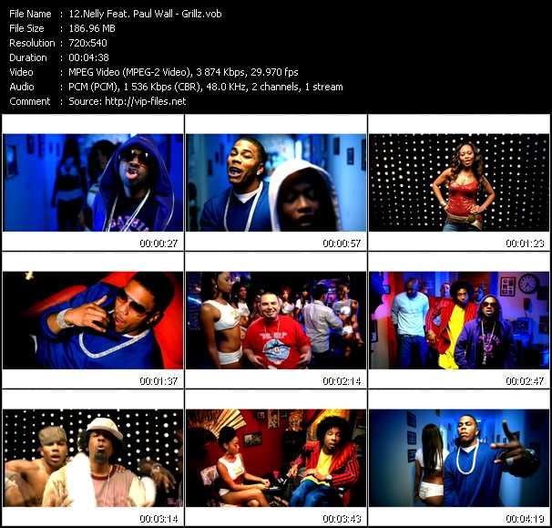 Nelly Feat. Paul Wall video screenshot