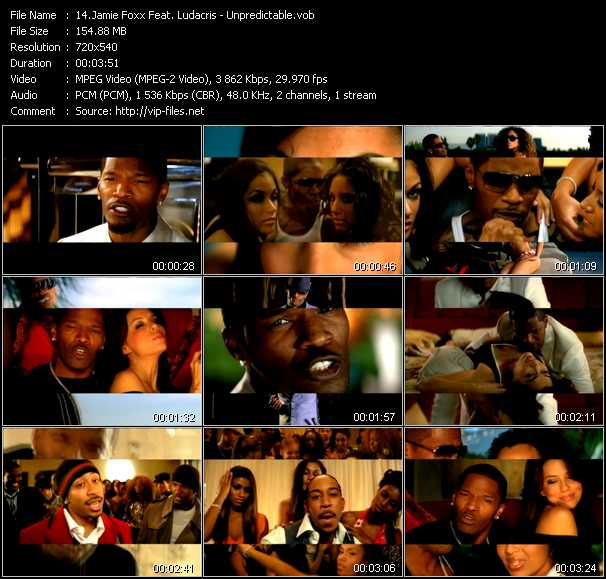 Jamie Foxx Feat. Ludacris video screenshot