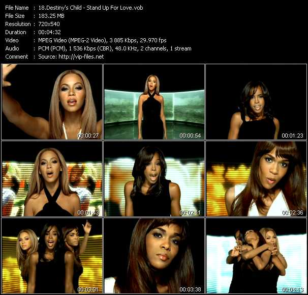 Destiny's Child video screenshot