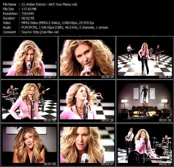 Amber Dotson video screenshot