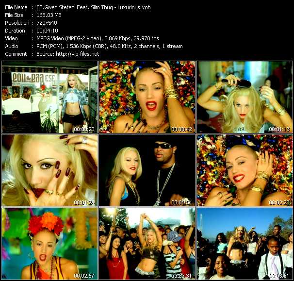 Gwen Stefani Feat. Slim Thug video screenshot