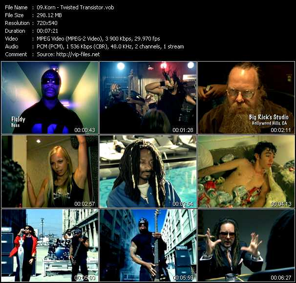 Korn video screenshot