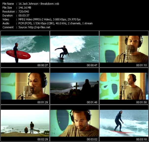 Jack Johnson video screenshot
