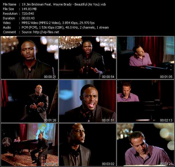 Jim Brickman Feat. Wayne Brady video screenshot