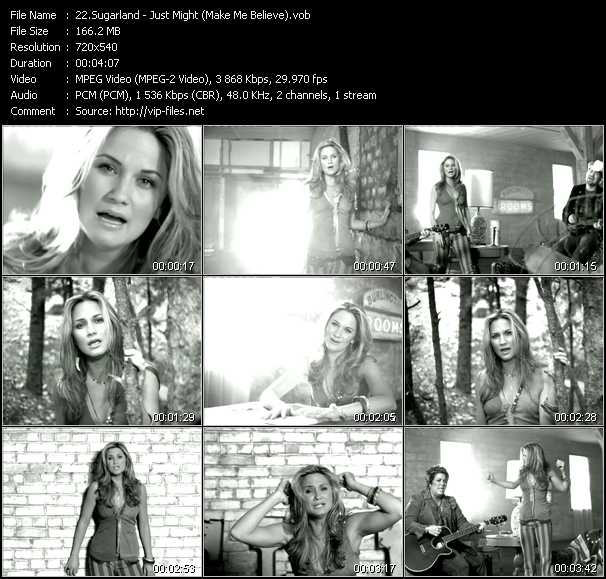 Sugarland video screenshot