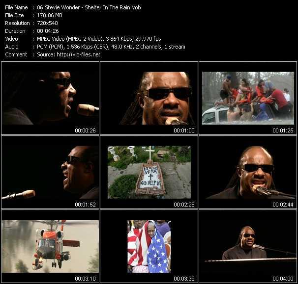 Stevie Wonder video screenshot