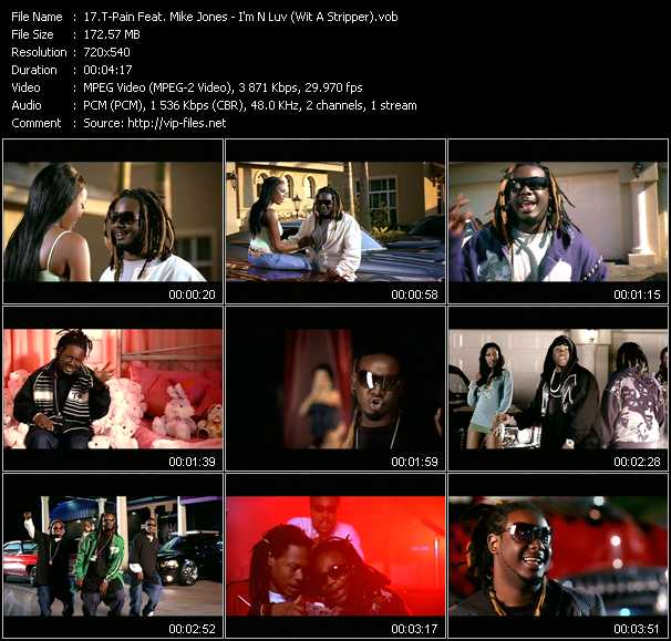 T-Pain Feat. Mike Jones video screenshot