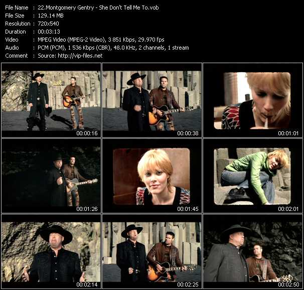 Montgomery Gentry video screenshot
