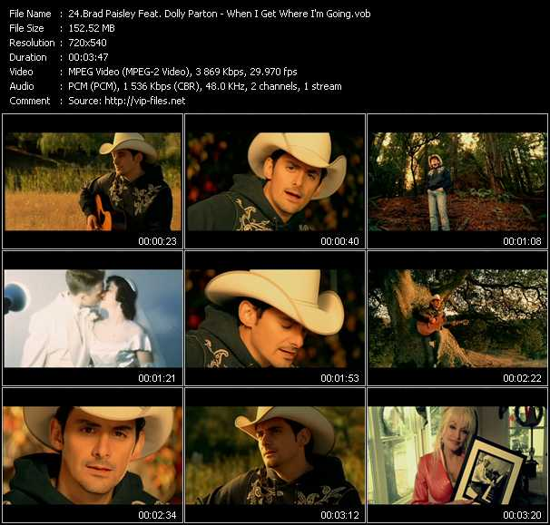 Brad Paisley Feat. Dolly Parton video screenshot