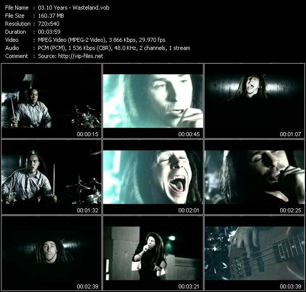 10 Years video screenshot