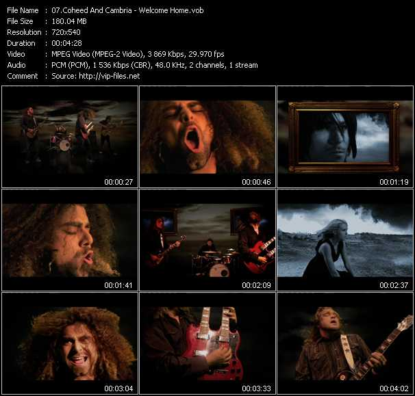 Coheed And Cambria video screenshot