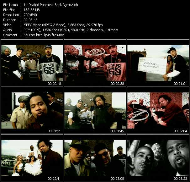 Dilated Peoples video screenshot