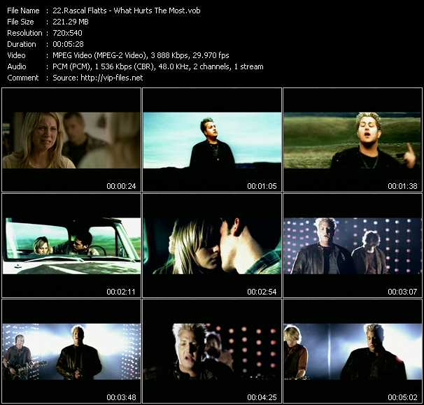 Rascal Flatts video screenshot