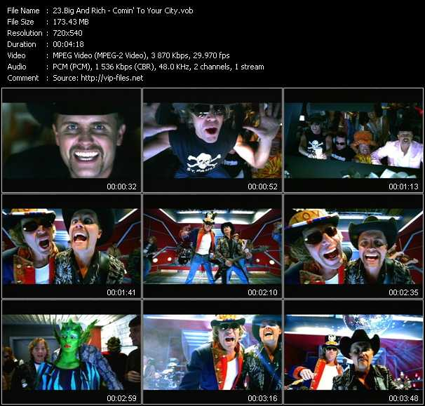 Big And Rich video screenshot