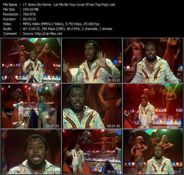 Jimmy Bo Horne video screenshot