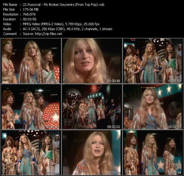 Pussycat video screenshot