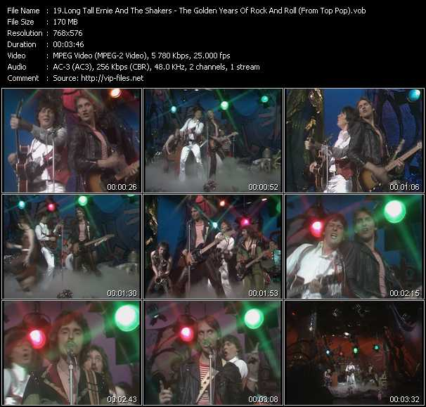 Long Tall Ernie And The Shakers video screenshot