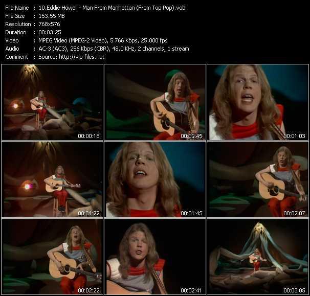Eddie Howell video screenshot