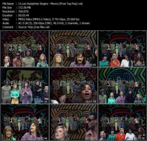 Les Humphries Singers video screenshot