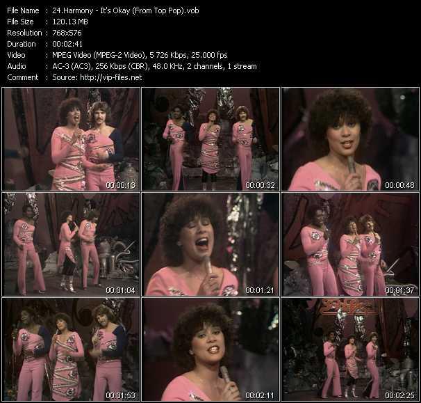 Harmony video screenshot