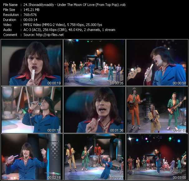 Showaddywaddy video screenshot