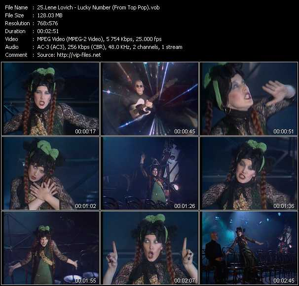 Lene Lovich video screenshot