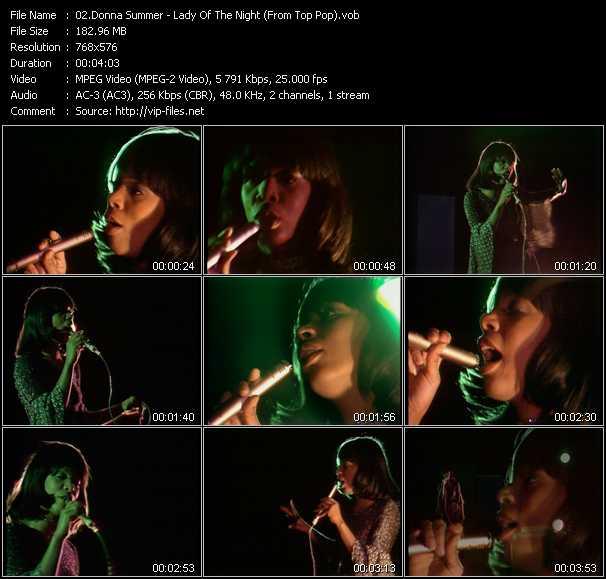 Donna Summer video screenshot